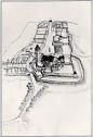 Perchtoldsdorf 1529 (Rekonstruktionszeichnung)