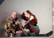 Macbeth 2012 (Dietmar König und Alexandra Henkel, © Barbara Pallfy)